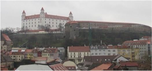 The Castle of Bratislava