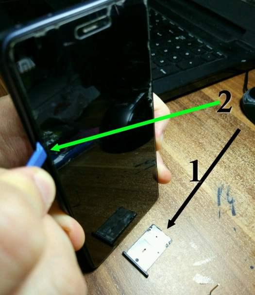 Change battery in Xiaomi Mi4c