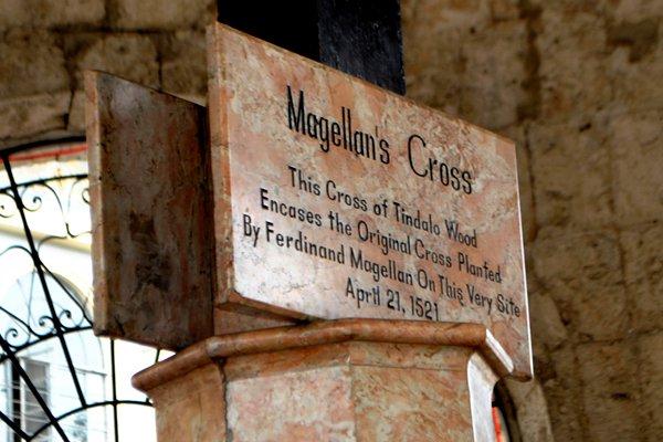 Cebu-Bohol Budget Itinerary - Magellan's Cross