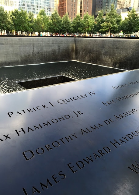 solo backpacking New York City - Ground Zero