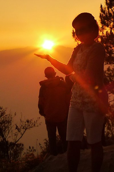 Solo Backpacking in Sagada - Kiltepan Sunrise