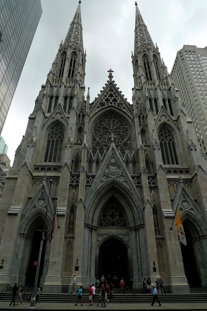 solo backpacking New York City - St. Patrick's Cathedral