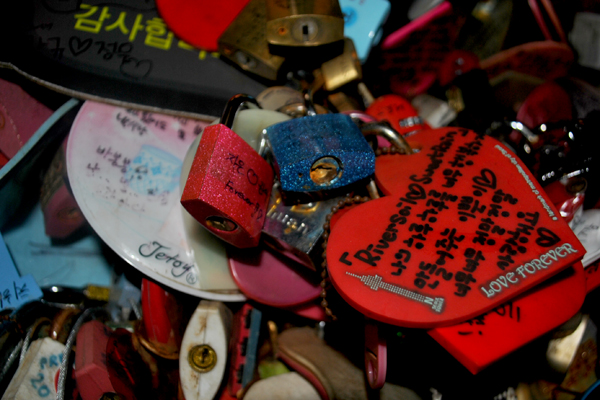 South Korea 4 Days Budget Itinerary - Locks of Love