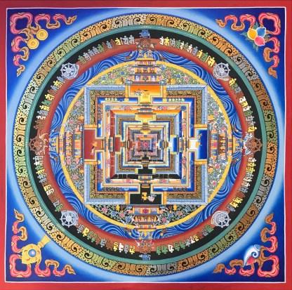 Kalachakra Mandala (Wheel of Time)