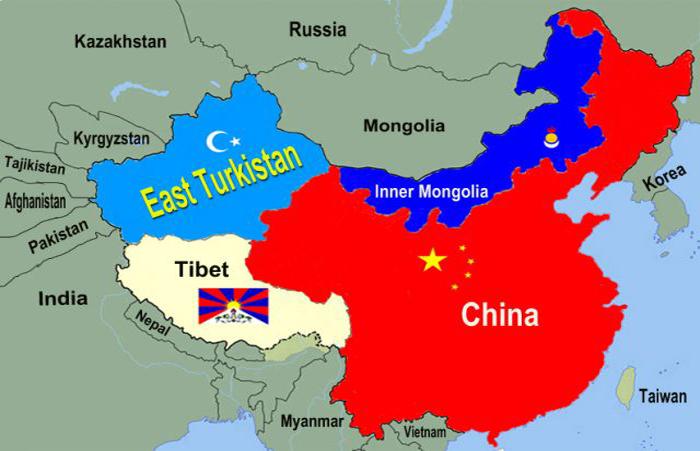 """Résultat de recherche d'images pour """"Uyghur map"""""""