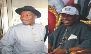 President Goodluck Jonathan and Governor Chibuike Rotimi Amaechi