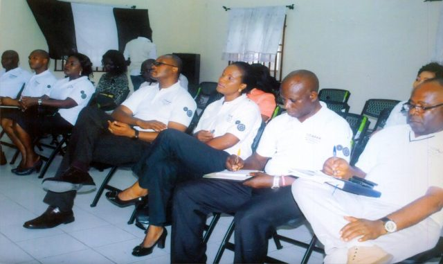 Cross section of participant during press briefing of 30th Annual General Meeting of MAN at the Council Port Harcourt recently.