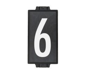6″ x 12″ Charcoal Stone 1