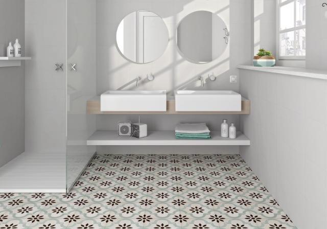 ca cordoba aqua floor tile 223 x 223
