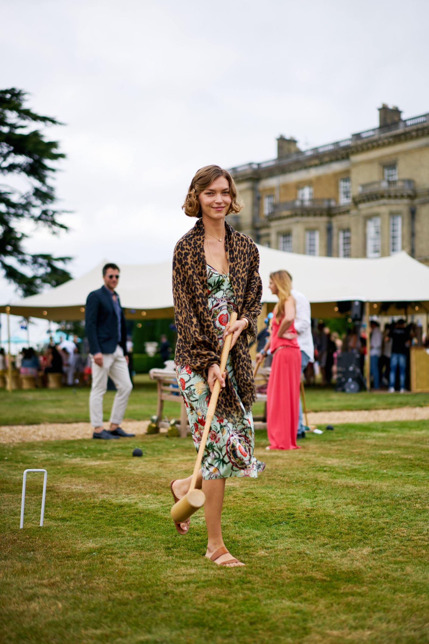 Croquet at Hedsor House