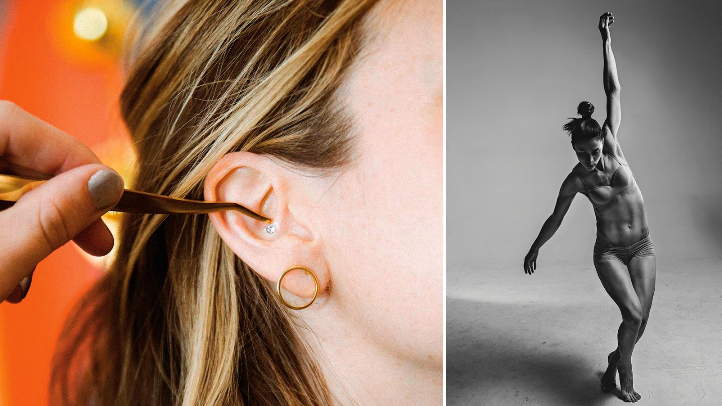 From left: stress-relieving ear seeds; the new Curve regime at One Ldn