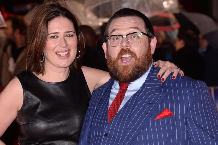 The reinvention of Nick Frost | The Times