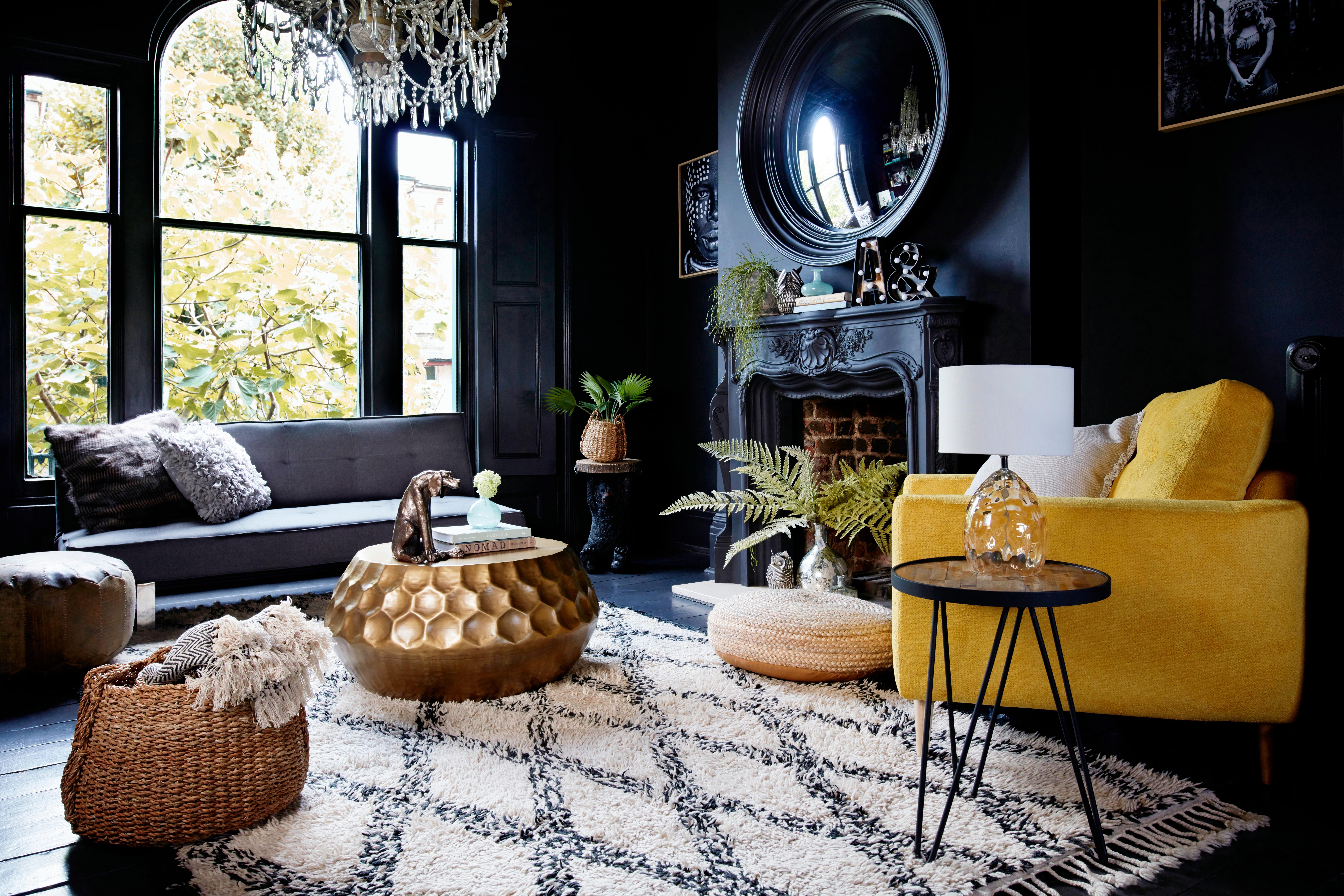 Metallic Interiors Gold Copper And Brass Blend