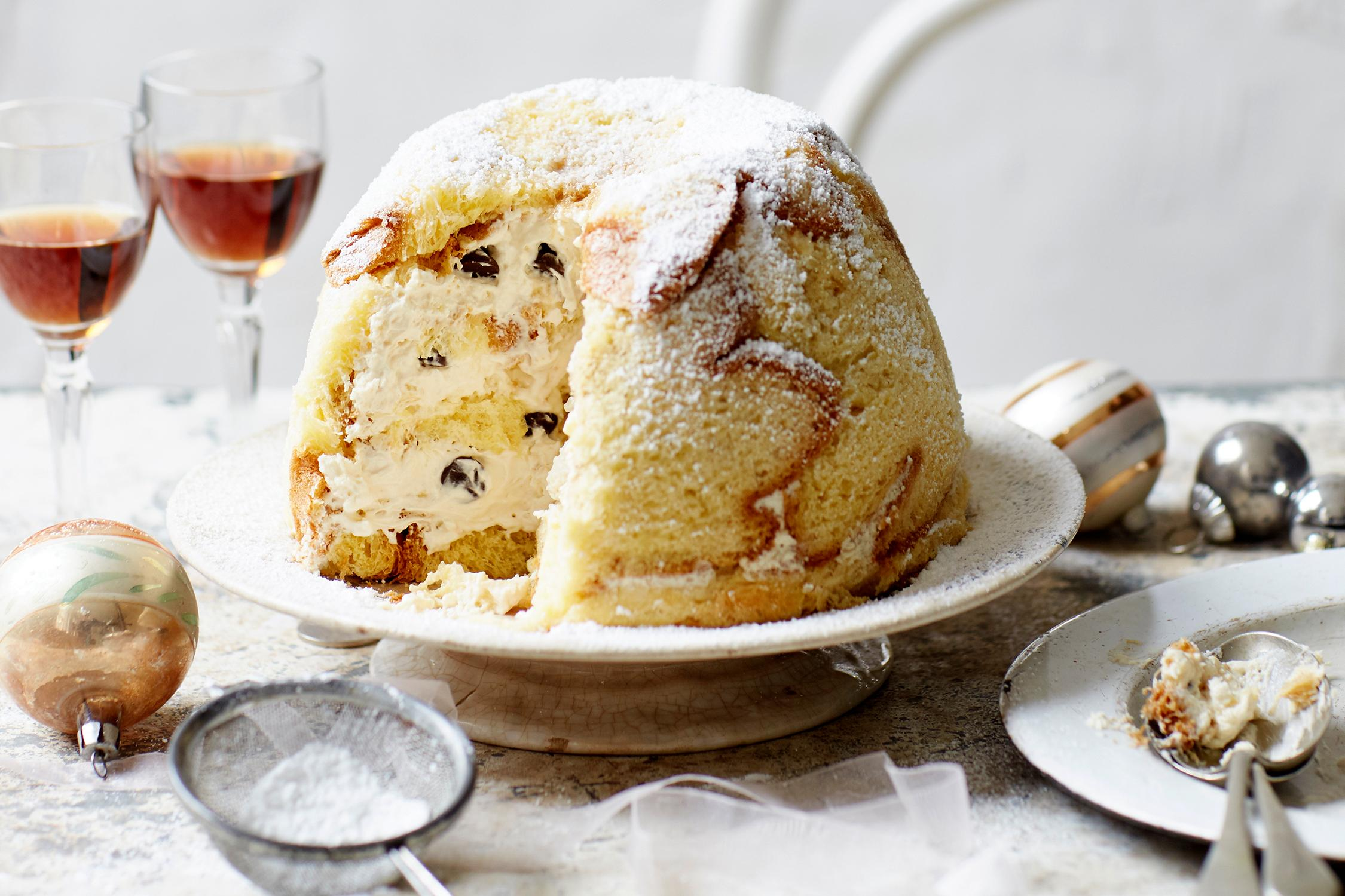 Giorgio Locatelli S Zuccotto Di Pandoro Al Tiramisu Recipe