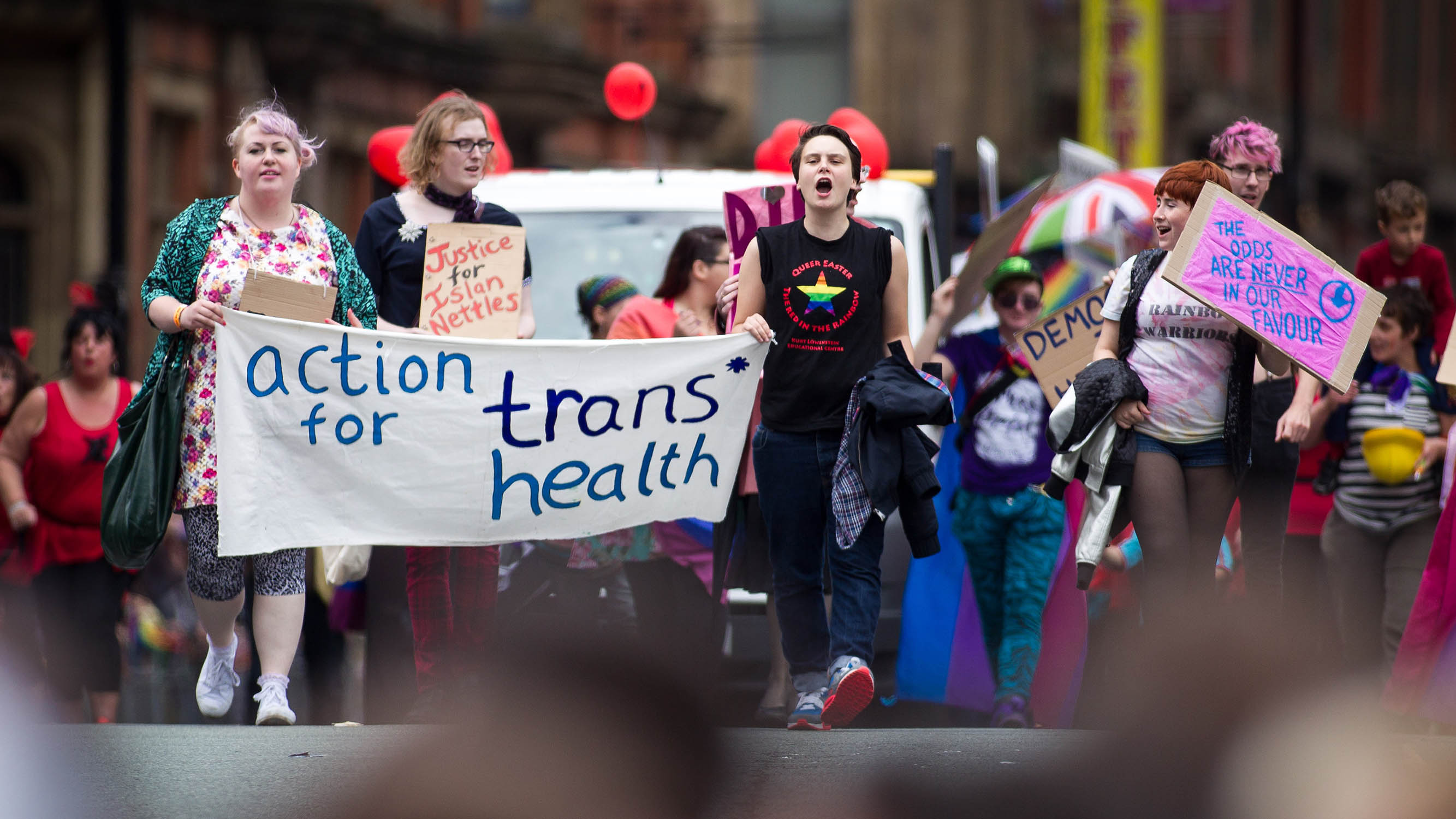 Action for Trans Health believes anyone who self-identifies as a woman should be allowed to use women-only spaces