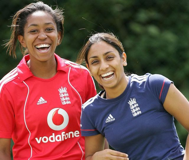 Ebony Rainford Brent Left And Isa Guha Are The First Female Summarisers For