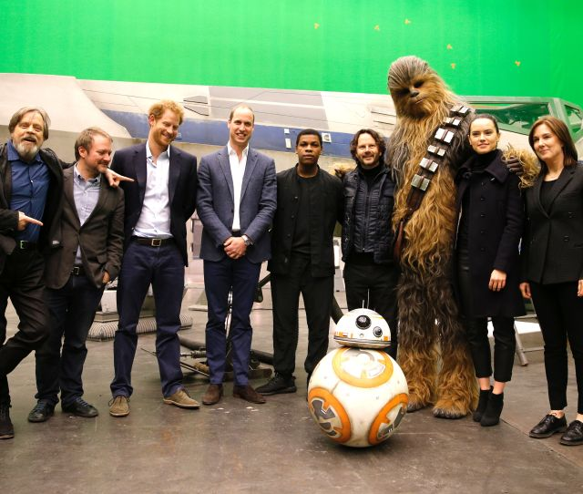 Princes William And Harry Join Dark Side As Star Wars Stormtroopers In Latest Blockbuster News The Times