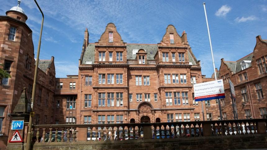 Image result for edinburgh sick children's hospital