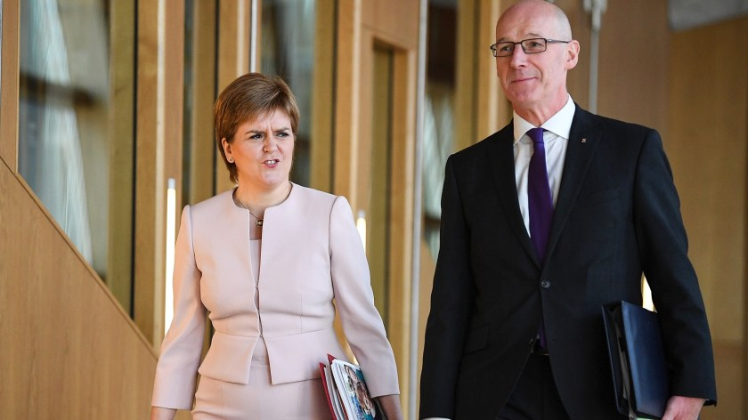 Nicola Sturgeon appointed John Swinney, her deputy, as education secretary as a sign of her commitment to close the attainment gap
