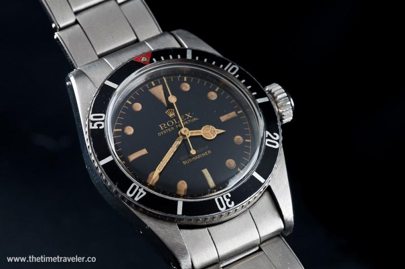 Big Crown James Bond Submariner From Original Owners