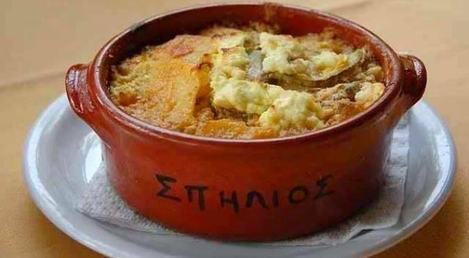 Falasarna, Crete. Taverna Spilios.