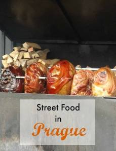 Street food in Prague. By The Tiny Book