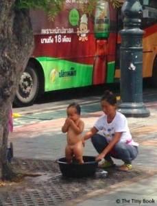 Everyday life in Bangkok.