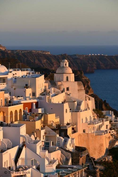 Another sunset in Thira- Santorini. Santorini dreamy photo destination
