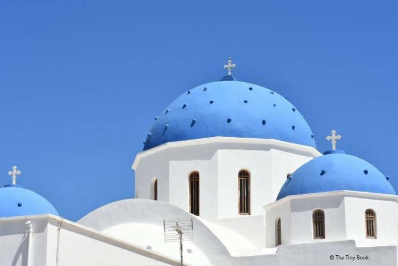 Domes of Perissa, Santorini. Santorini dreamy photo destination