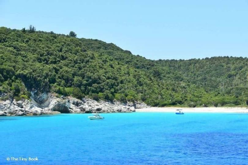 Antipaxos, Greece. Sailing the Ionian with Children