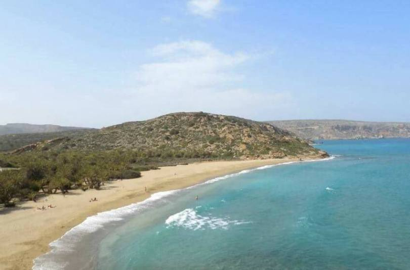 Family Moments in Greece - The famous Vai beach in Crete, brought to you via Variety Cruises.
