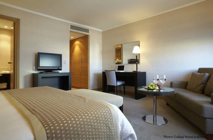 Galaxy Hotel Iraklio - Luxury Family Holidays in Crete.Galaxy Hotel Iraklio a child-friendly hotel for Family Luxury Holidays and more!