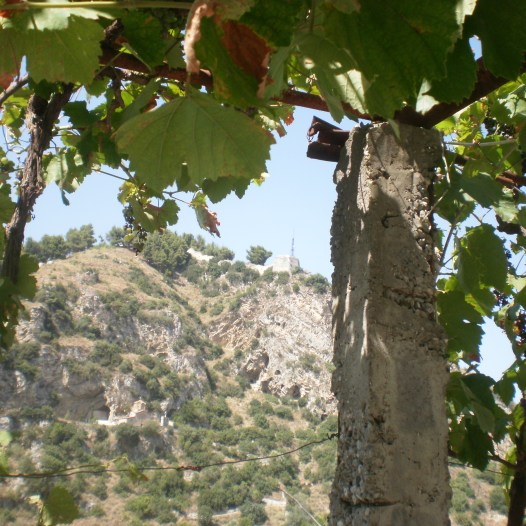 Berat from the other side of the valley