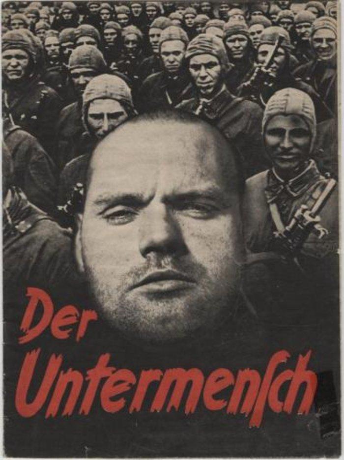 Έντυπo των SS με τίτλο «Der Untermensch» (Ο υπάνθρωπος)