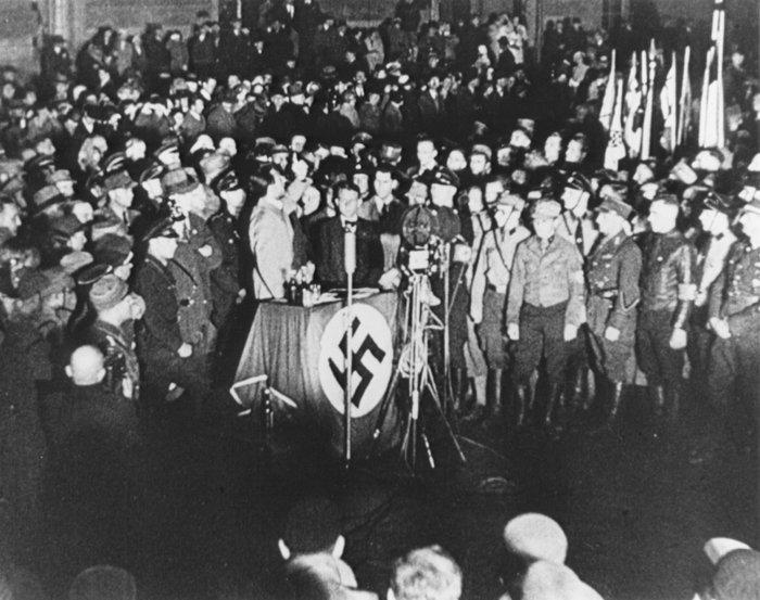 Ομιλία του υπουργού Προπαγάνδας των Ναζί Γιόζεφ Γκαίμπελς