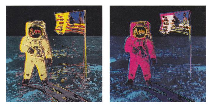 Andy Warhol - Moonwalk