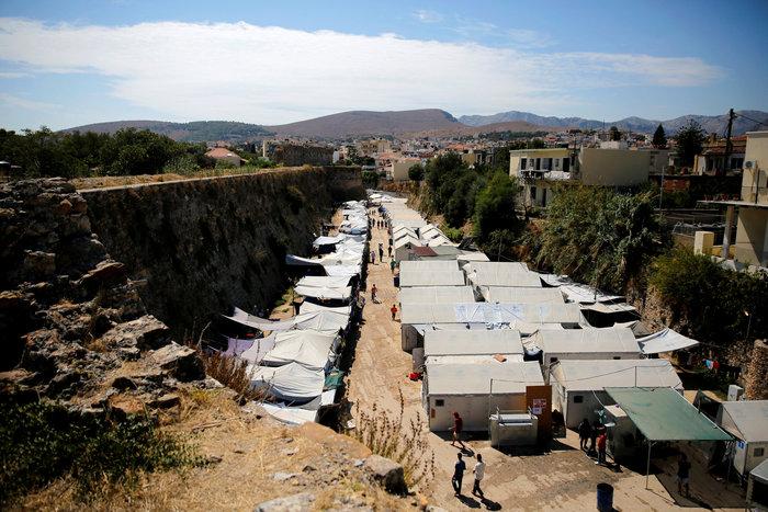 Ο καταυλισμός της Σούδας στη Χίο
