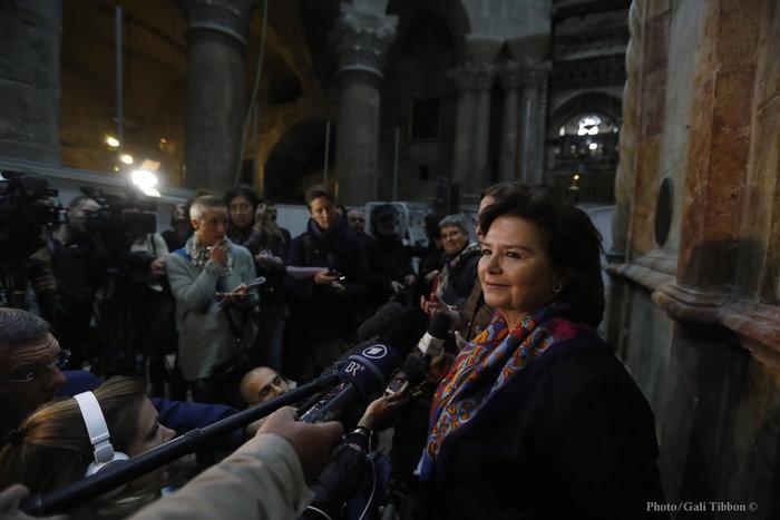 Αντωνία Μοροπούλου, καθηγήτρια του Πολυτεχνείου και επικεφαλής των εργασιών αποκατάστασης