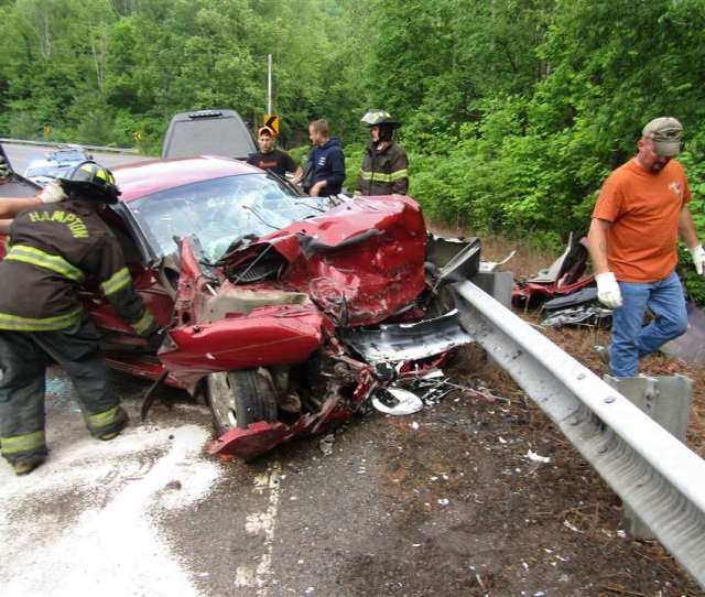 One Person Was Killed In This Two Car Crash On U S Highway 321 Around Watauga Lake On Monday Afternoon The Crash Took Place In A Sharp Curve Near Little