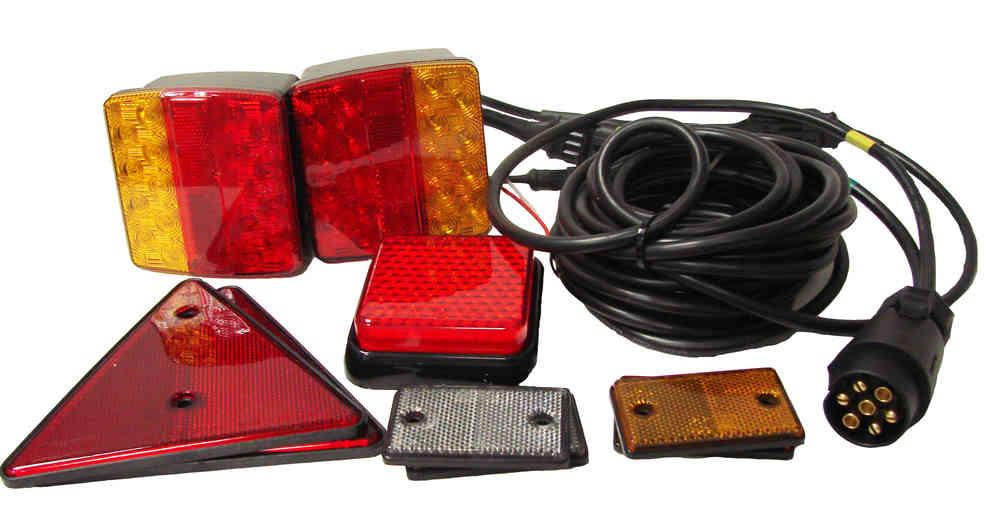 led trailer lighting conversion kit 4m cables
