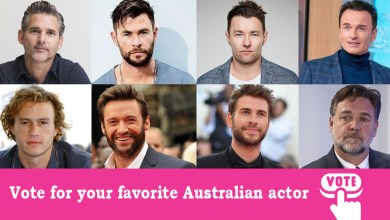 Photo of Top 10 Famous Australian Actors in 2020