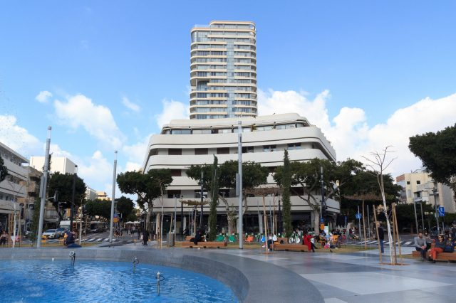 Dizengoff Square with Bauhaus architecture buildings - one of the beautiful things to see in tel aviv, tel aviv tourist