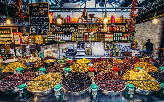 Inside Sarona Market - one of the top tel aviv attractions, tel aviv in israel