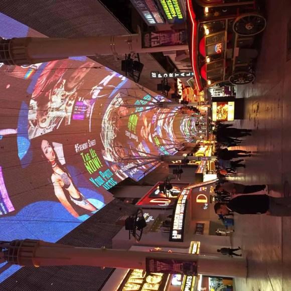 Freemont street, Downtown Vegas