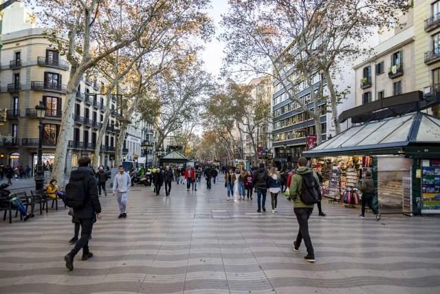 La Rambla, Barcelona - sights in barcelona, sights barcelona, barcelona sightseeing