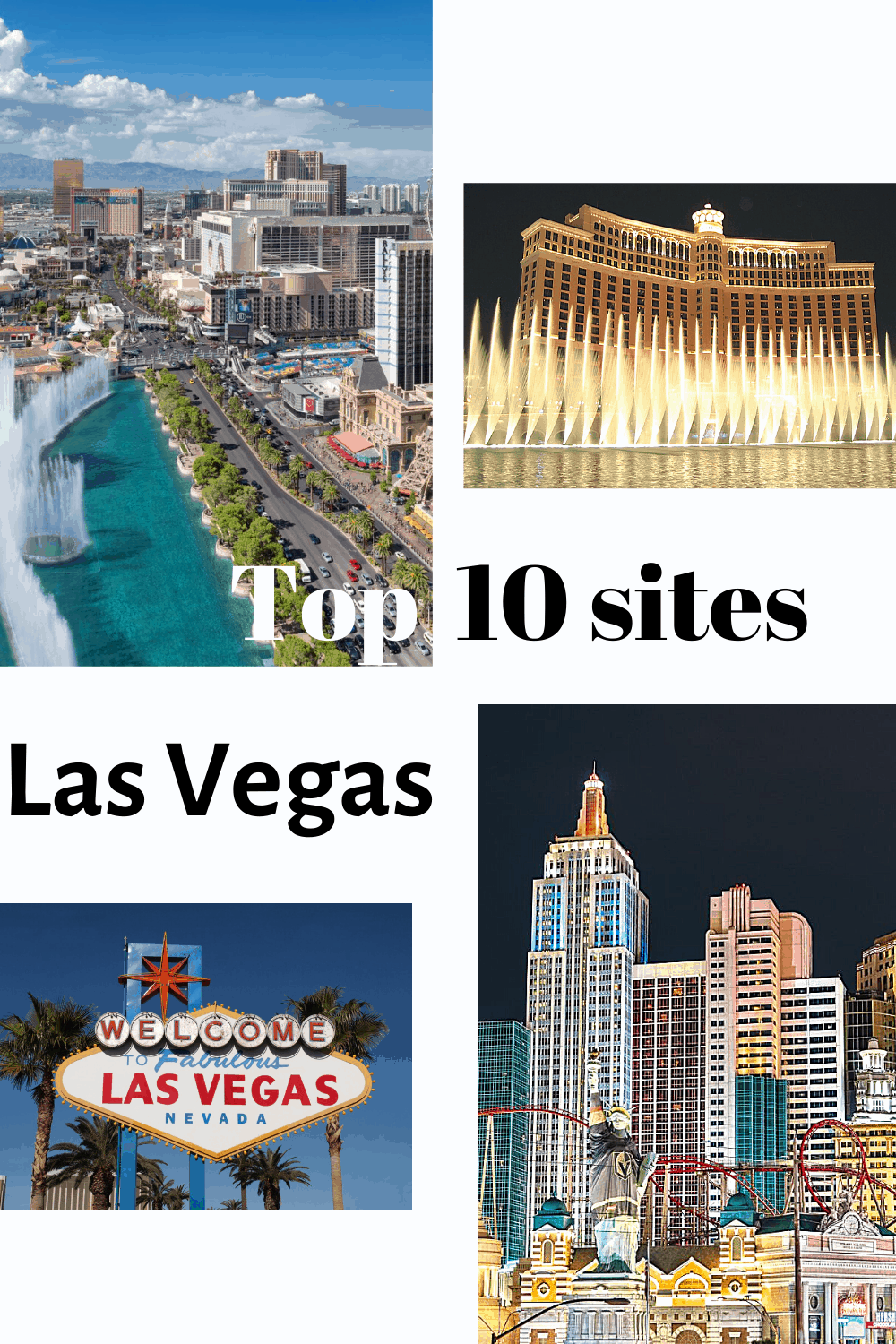 Top 10 sites in Las Vegas, What to do in Las Vegas, Best things to do in Last Vegas, Las Vegas sites, activites in las vegas #LasVegas #travelusa #Thetoptentraveler