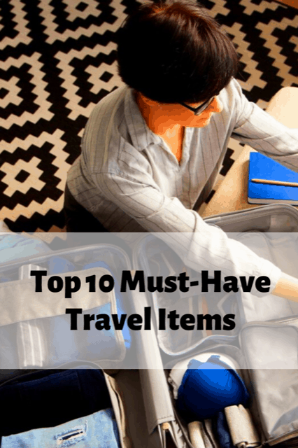 Must Have travel items, must have travel accessories, best travel accessories, essential travel items, ultimate packing list #TravelAccessories #EssentialTravelItems #Packinglist #Thetoptentraveler