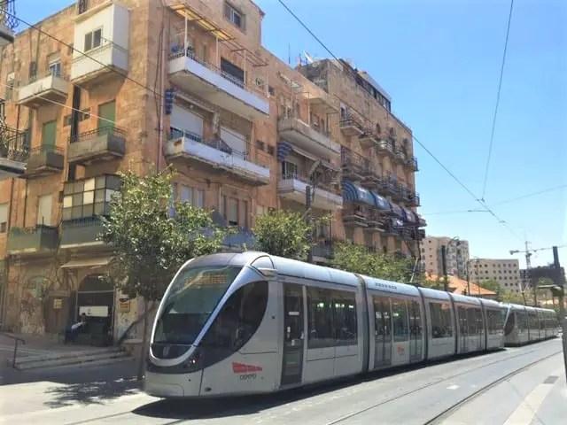 The light train of Jerusalem - where jerusalem meets modernism