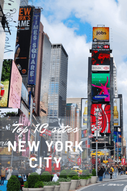 Top 10 sites in New York City, What to do in NYC, Best things to do in New York City, Travel NYC, Travel New York City #TravelNYC #TravelUSA #NewYorkCity #TheTopTenTraveler