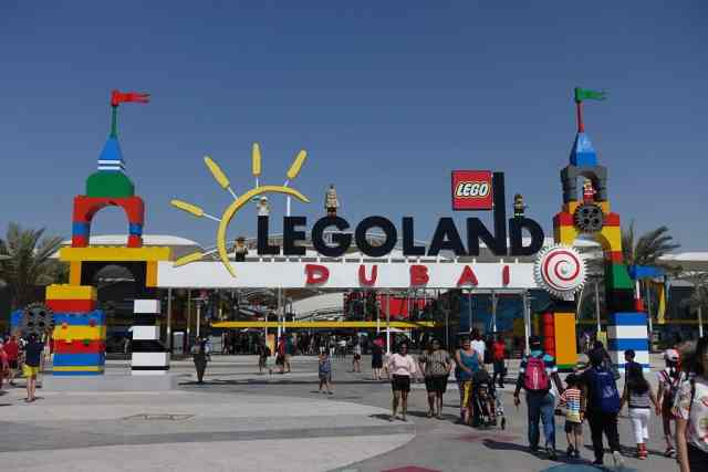 Legoland Dubai. things to do in dubai with kids. place to visit in dubai. Other attractions are ski dubai, wild wadi waterpark and dubai miracle garden